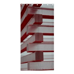 Red Sunglasses Art Abstract  Shower Curtain 36  x 72  (Stall)