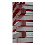 Red Sunglasses Art Abstract  Shower Curtain 36  x 72  (Stall)  33.26 x66.24 Curtain