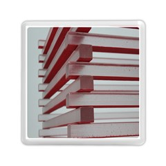 Red Sunglasses Art Abstract  Memory Card Reader (Square)