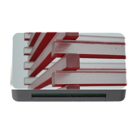 Red Sunglasses Art Abstract  Memory Card Reader with CF