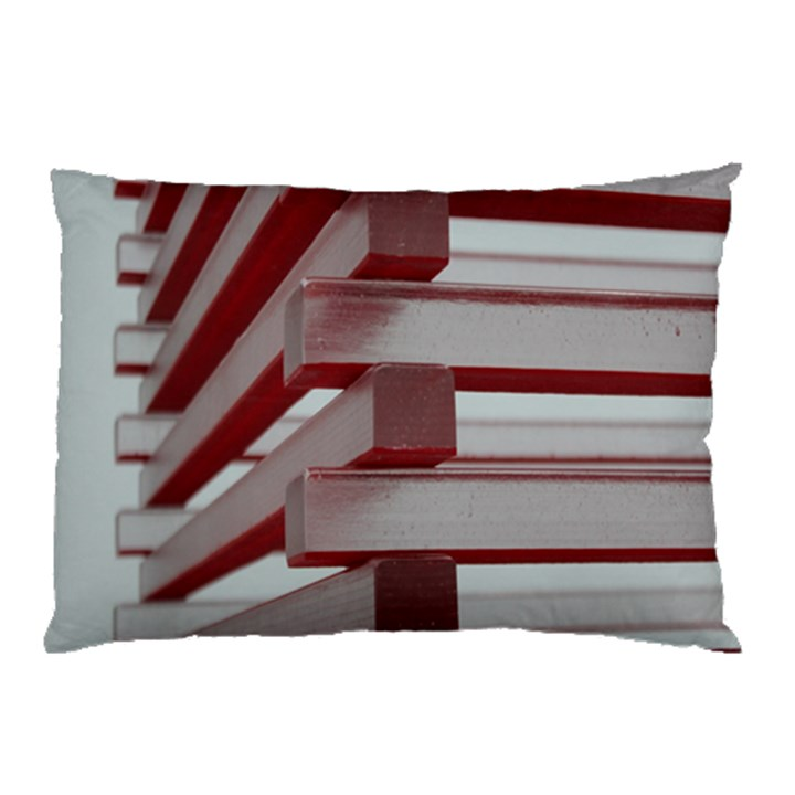Red Sunglasses Art Abstract  Pillow Case (Two Sides)