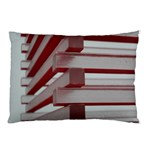Red Sunglasses Art Abstract  Pillow Case (Two Sides) Back
