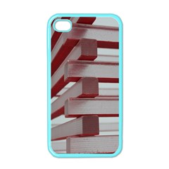 Red Sunglasses Art Abstract  Apple iPhone 4 Case (Color)