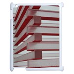 Red Sunglasses Art Abstract  Apple iPad 2 Case (White) Front