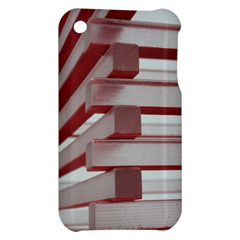 Red Sunglasses Art Abstract  Apple iPhone 3G/3GS Hardshell Case