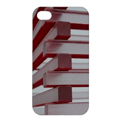 Red Sunglasses Art Abstract  Apple iPhone 4/4S Hardshell Case