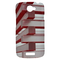 Red Sunglasses Art Abstract  HTC One S Hardshell Case