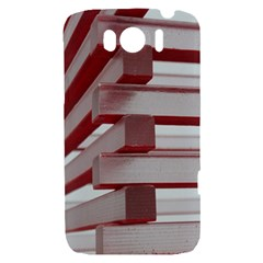 Red Sunglasses Art Abstract  HTC Sensation XL Hardshell Case