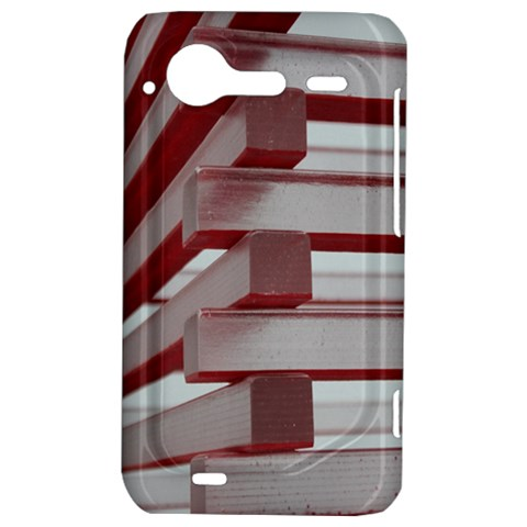 Red Sunglasses Art Abstract  HTC Incredible S Hardshell Case