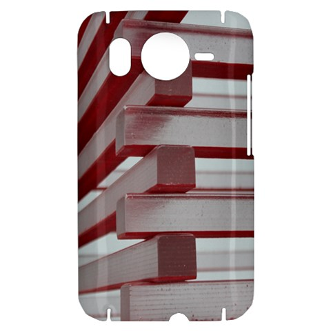 Red Sunglasses Art Abstract  HTC Desire HD Hardshell Case