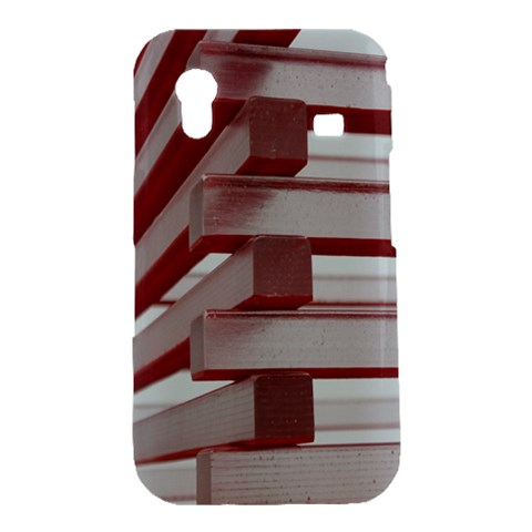 Red Sunglasses Art Abstract  Samsung Galaxy Ace S5830 Hardshell Case