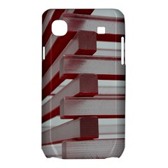 Red Sunglasses Art Abstract  Samsung Galaxy SL i9003 Hardshell Case