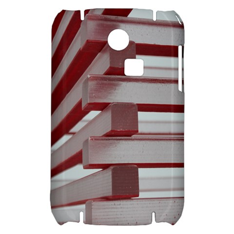 Red Sunglasses Art Abstract  Samsung S3350 Hardshell Case