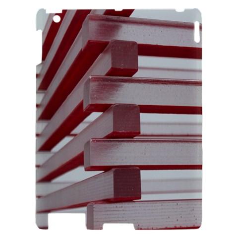 Red Sunglasses Art Abstract  Apple iPad 2 Hardshell Case