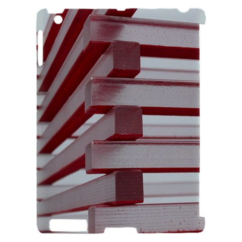 Red Sunglasses Art Abstract  Apple iPad 2 Hardshell Case (Compatible with Smart Cover)