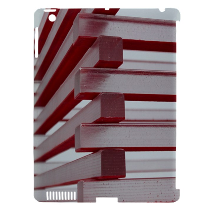 Red Sunglasses Art Abstract  Apple iPad 3/4 Hardshell Case (Compatible with Smart Cover)