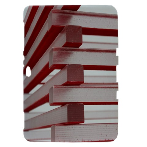 Red Sunglasses Art Abstract  Samsung Galaxy Tab 8.9  P7300 Hardshell Case