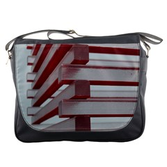 Red Sunglasses Art Abstract  Messenger Bags