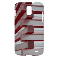 Red Sunglasses Art Abstract  Samsung Galaxy S II Skyrocket Hardshell Case