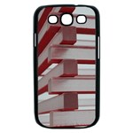 Red Sunglasses Art Abstract  Samsung Galaxy S III Case (Black) Front