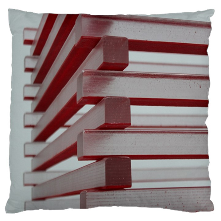 Red Sunglasses Art Abstract  Large Cushion Case (Two Sides)