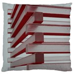Red Sunglasses Art Abstract  Large Cushion Case (Two Sides) Back