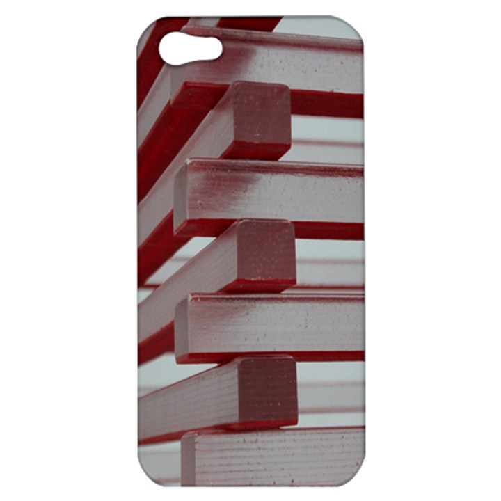 Red Sunglasses Art Abstract  Apple iPhone 5 Hardshell Case