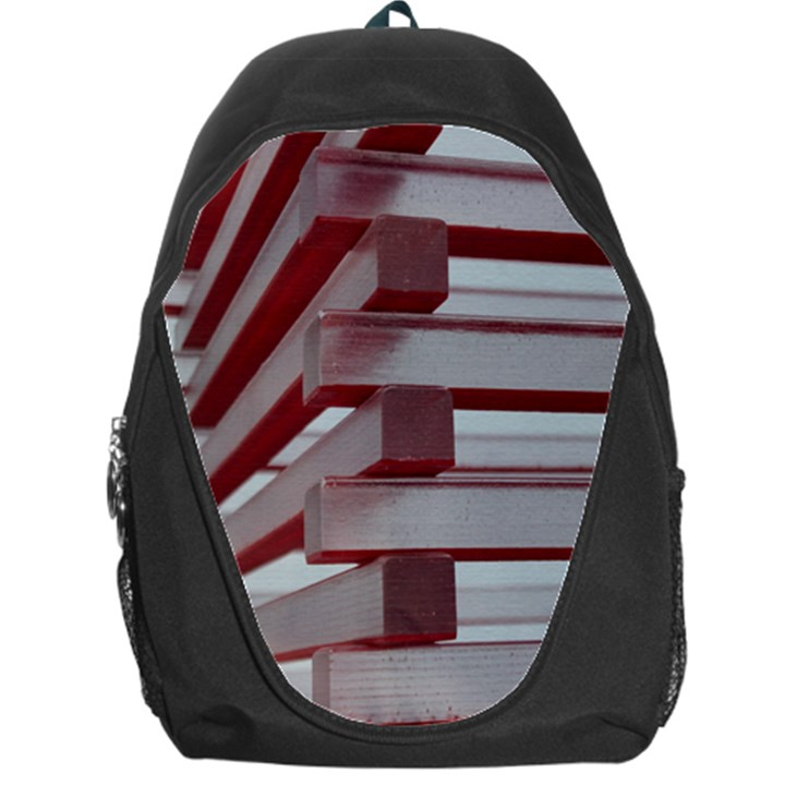 Red Sunglasses Art Abstract  Backpack Bag