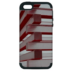 Red Sunglasses Art Abstract  Apple iPhone 5 Hardshell Case (PC+Silicone)