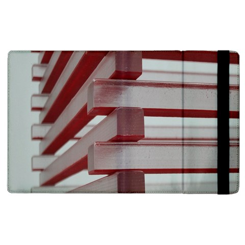 Red Sunglasses Art Abstract  Apple iPad 3/4 Flip Case