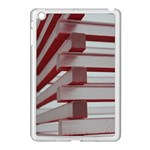 Red Sunglasses Art Abstract  Apple iPad Mini Case (White) Front