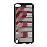 Red Sunglasses Art Abstract  Apple iPod Touch 5 Case (Black) Front