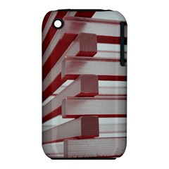 Red Sunglasses Art Abstract  Apple iPhone 3G/3GS Hardshell Case (PC+Silicone)