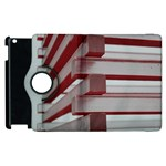 Red Sunglasses Art Abstract  Apple iPad 3/4 Flip 360 Case Front