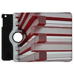 Red Sunglasses Art Abstract  Apple iPad Mini Flip 360 Case Front