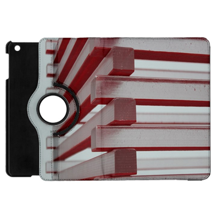 Red Sunglasses Art Abstract  Apple iPad Mini Flip 360 Case