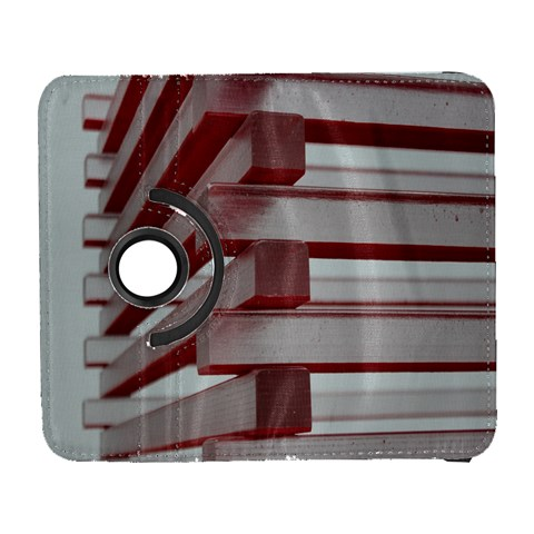 Red Sunglasses Art Abstract  Samsung Galaxy S  III Flip 360 Case