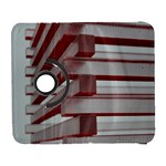 Red Sunglasses Art Abstract  Samsung Galaxy S  III Flip 360 Case Front