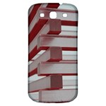 Red Sunglasses Art Abstract  Samsung Galaxy S3 S III Classic Hardshell Back Case Front