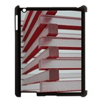 Red Sunglasses Art Abstract  Apple iPad 3/4 Case (Black) Front