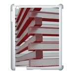 Red Sunglasses Art Abstract  Apple iPad 3/4 Case (White) Front