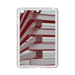 Red Sunglasses Art Abstract  iPad Mini 2 Enamel Coated Cases Front