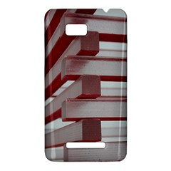 Red Sunglasses Art Abstract  HTC One SU T528W Hardshell Case