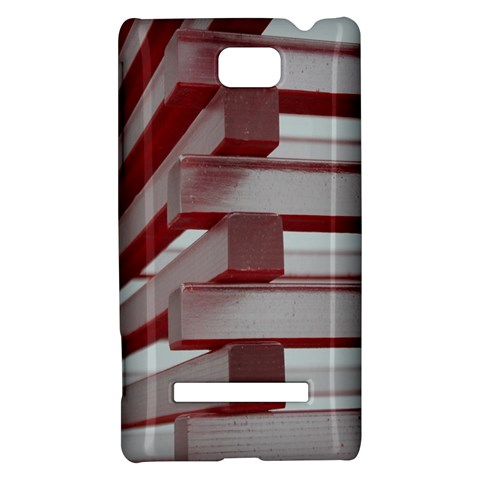 Red Sunglasses Art Abstract  HTC 8S Hardshell Case