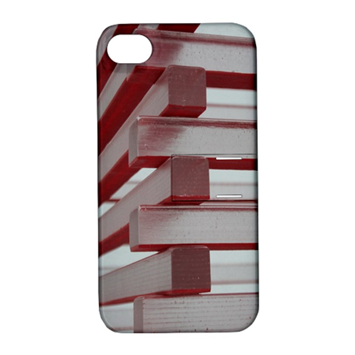 Red Sunglasses Art Abstract  Apple iPhone 4/4S Hardshell Case with Stand
