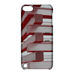 Red Sunglasses Art Abstract  Apple iPod Touch 5 Hardshell Case with Stand