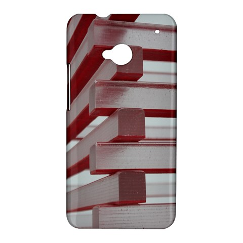 Red Sunglasses Art Abstract  HTC One M7 Hardshell Case