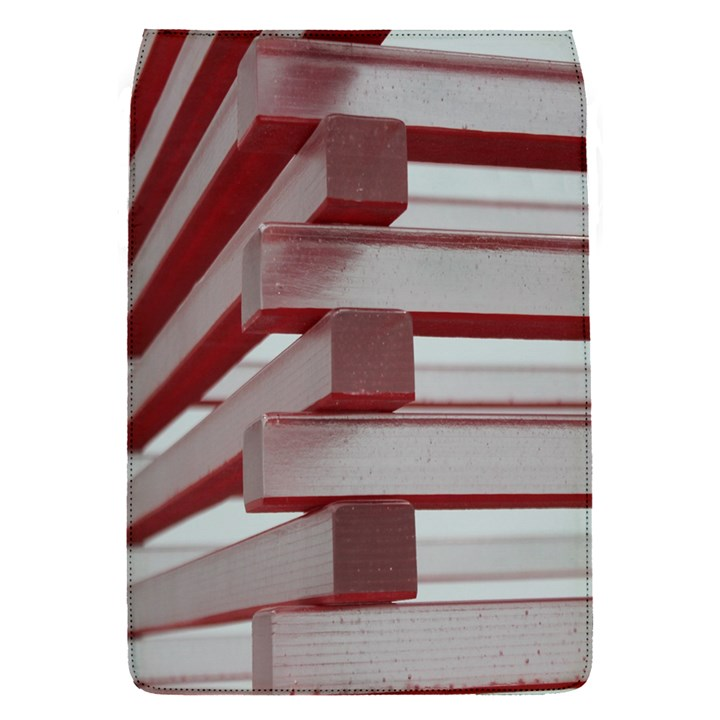 Red Sunglasses Art Abstract  Flap Covers (S)
