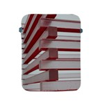 Red Sunglasses Art Abstract  Apple iPad 2/3/4 Protective Soft Cases Front