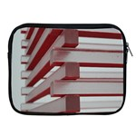 Red Sunglasses Art Abstract  Apple iPad 2/3/4 Zipper Cases Front